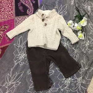 Baby Boys 6-12M Winter Outfit